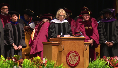 #BackstoBetsy: Graduates Turn Backs on DeVos During Commencement at Historically Black College