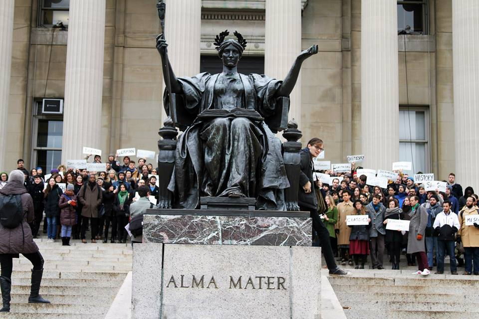 What are my chances of getting into Columbia (NY) as A grad student?