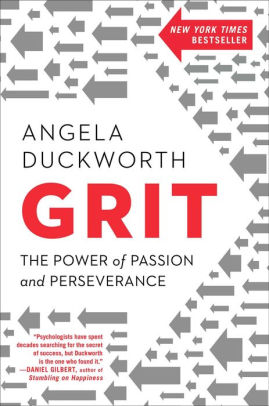 Cover of Grit: The Power of Passion and Perseverance by Angela Duckworth