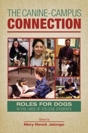 Editor discusses her book on the role of dogs on campuses