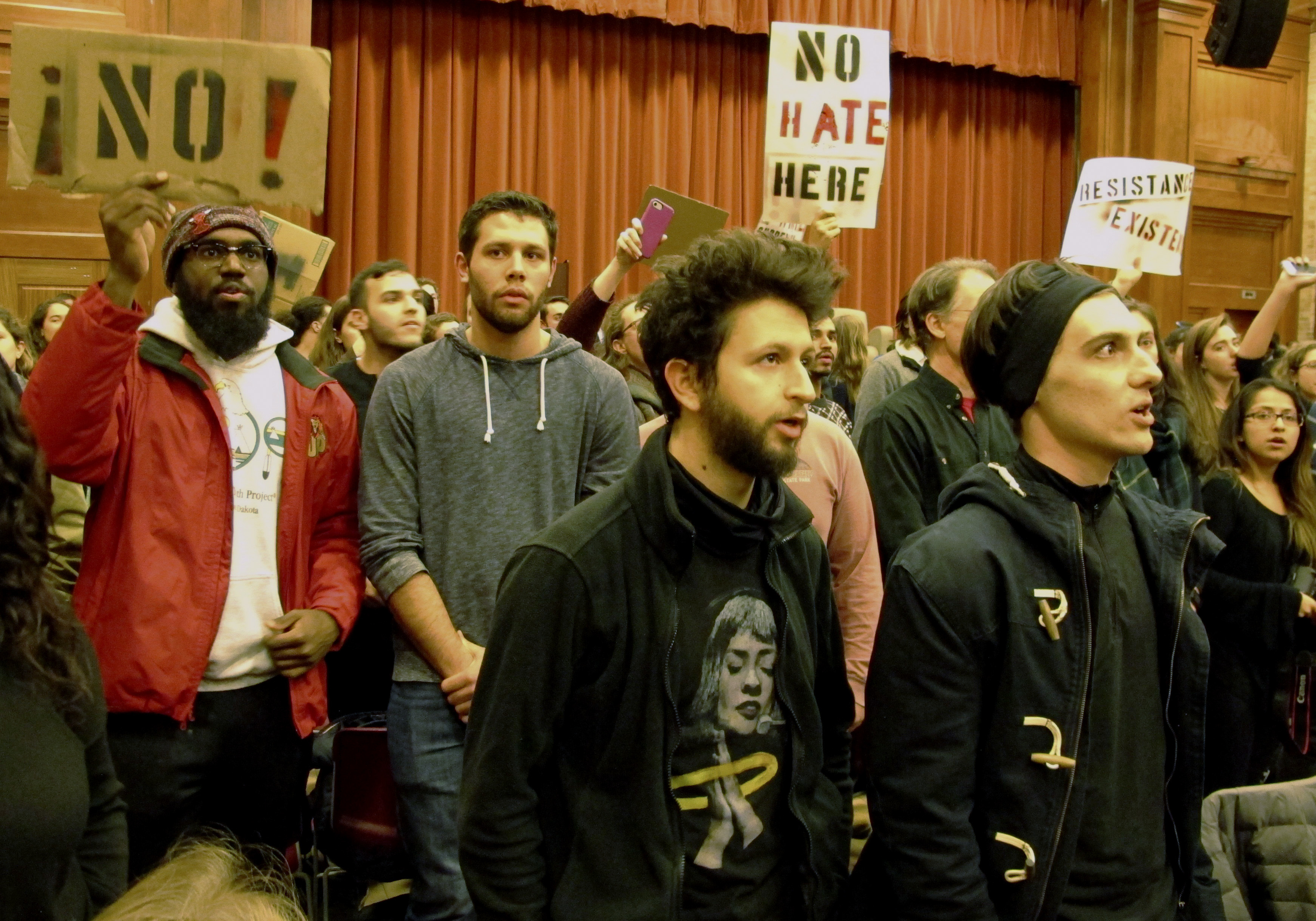 a violent attack on free speech at middlebury