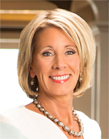 news betsy devos trumps choice education secretary unclear higher priorities