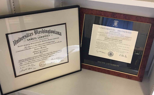 Are Your Diplomas Hung Up In Campus Office