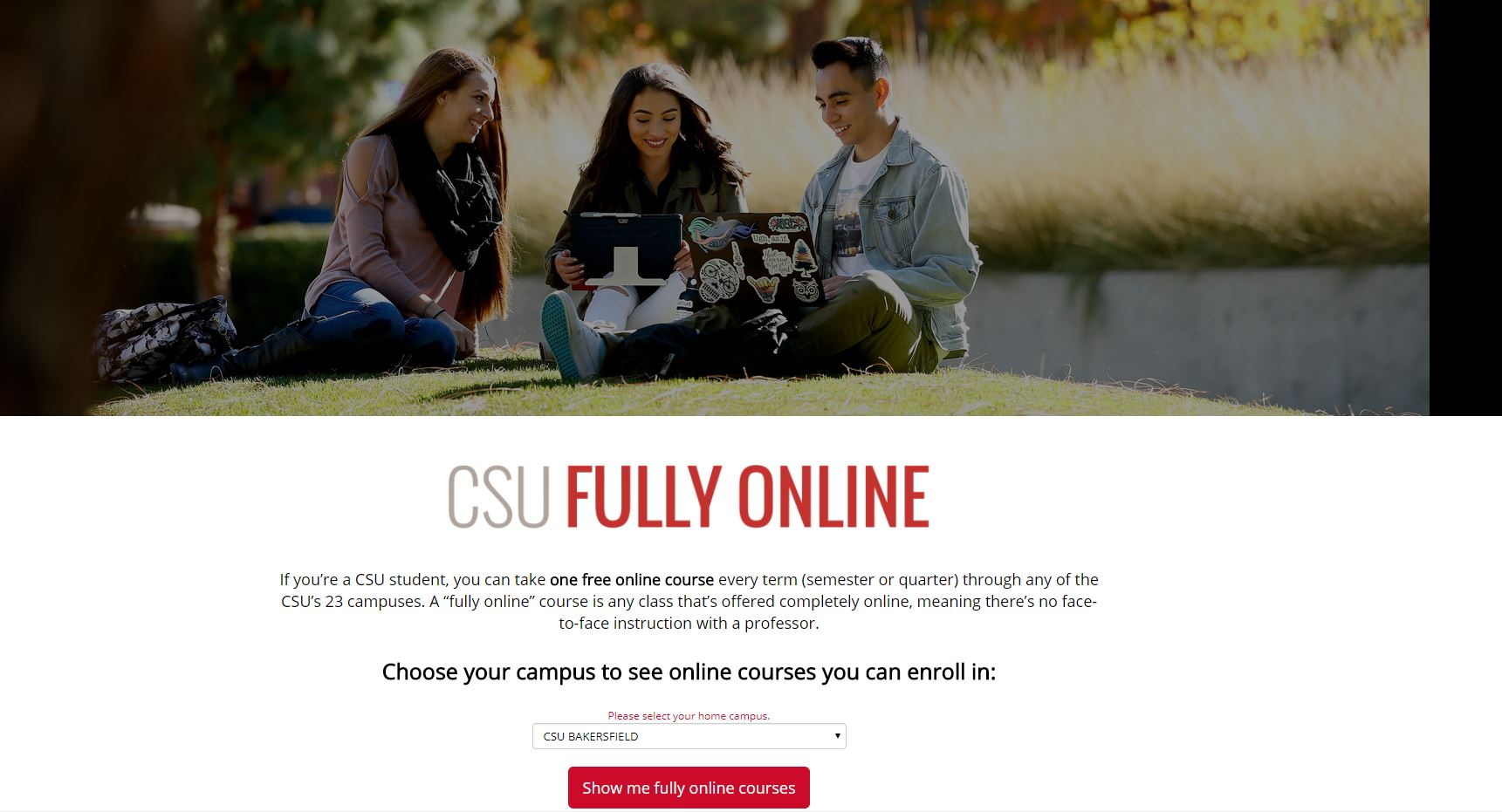 Cal State allows students to take online courses from other system