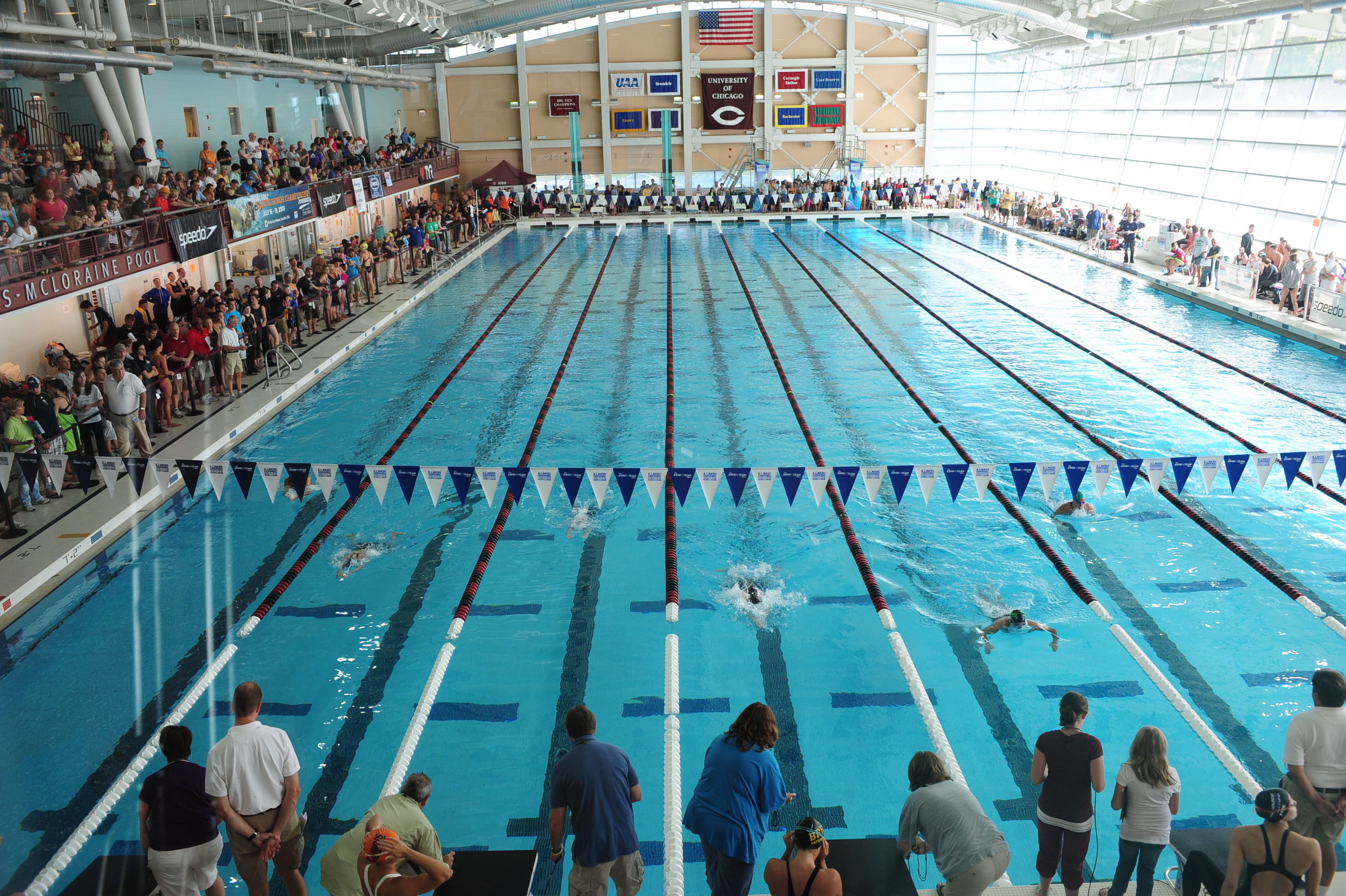 University of chicago drops swim fitness tests and pe requirement for Columbia university swimming pool