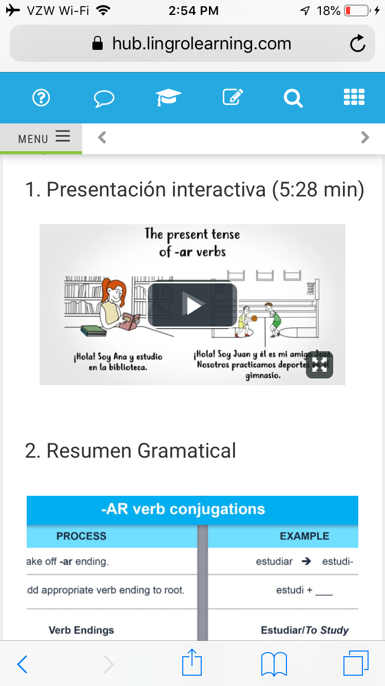 This screenshot from the Contraseña platform shows a video lesson.