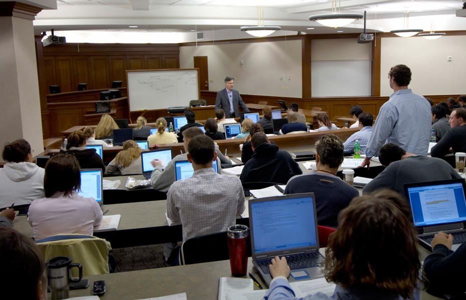 How do law schools determine who is a good candidate to their institutions?