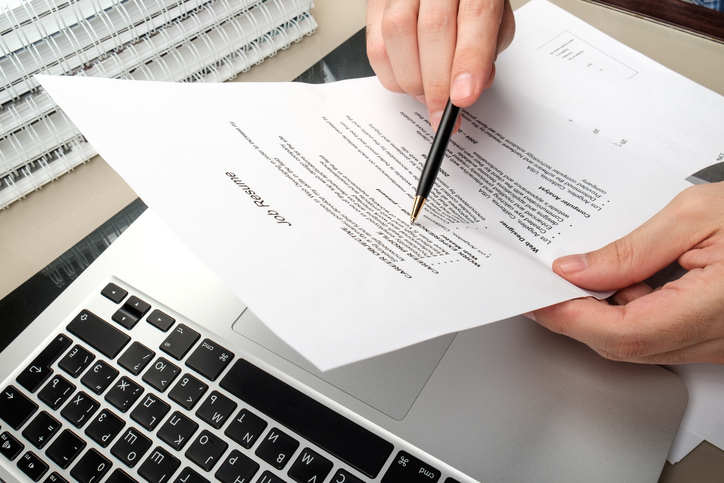 View Yourself As A Research Topic When Writing Your Resume Opinion