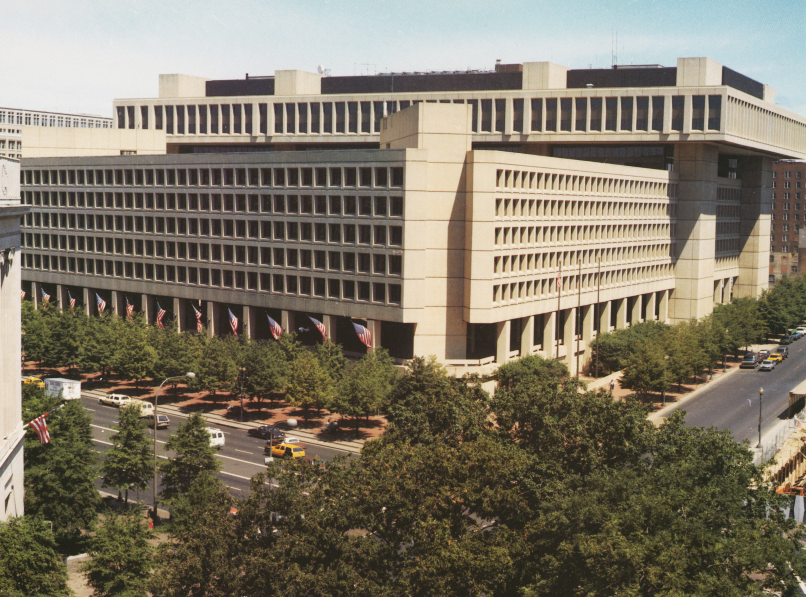 Photo of FBI headquarters in Washington