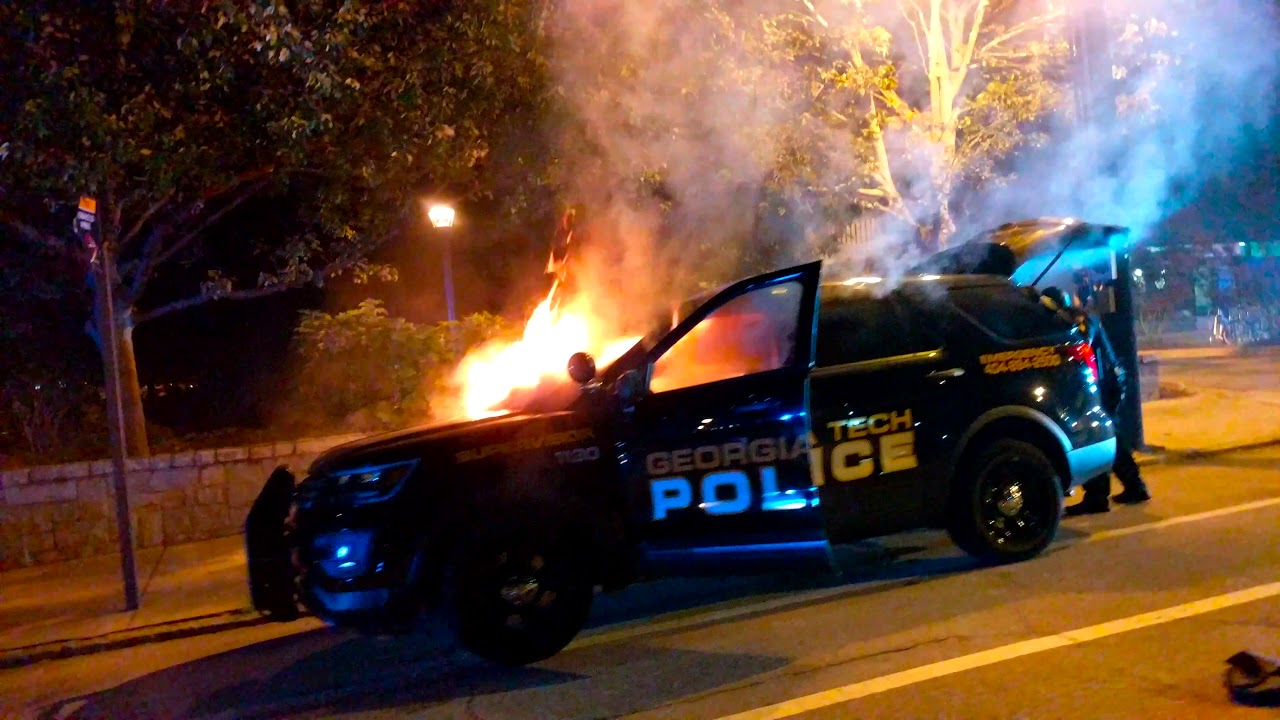 Georgia Georgian Police Stock Photos Georgia Georgian: Georgia Tech Erupts As Police Response Questioned After