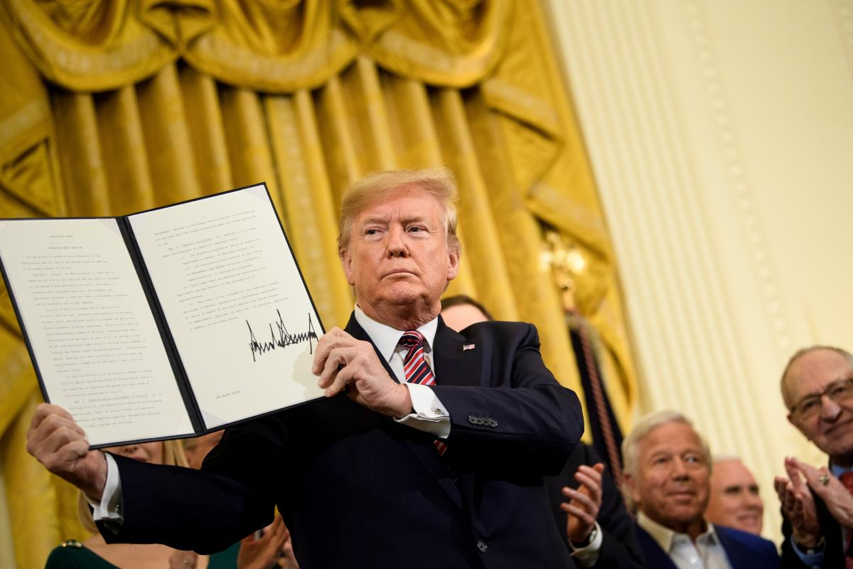 President Trump's executive order on anti-Semitism does not make me feel safer