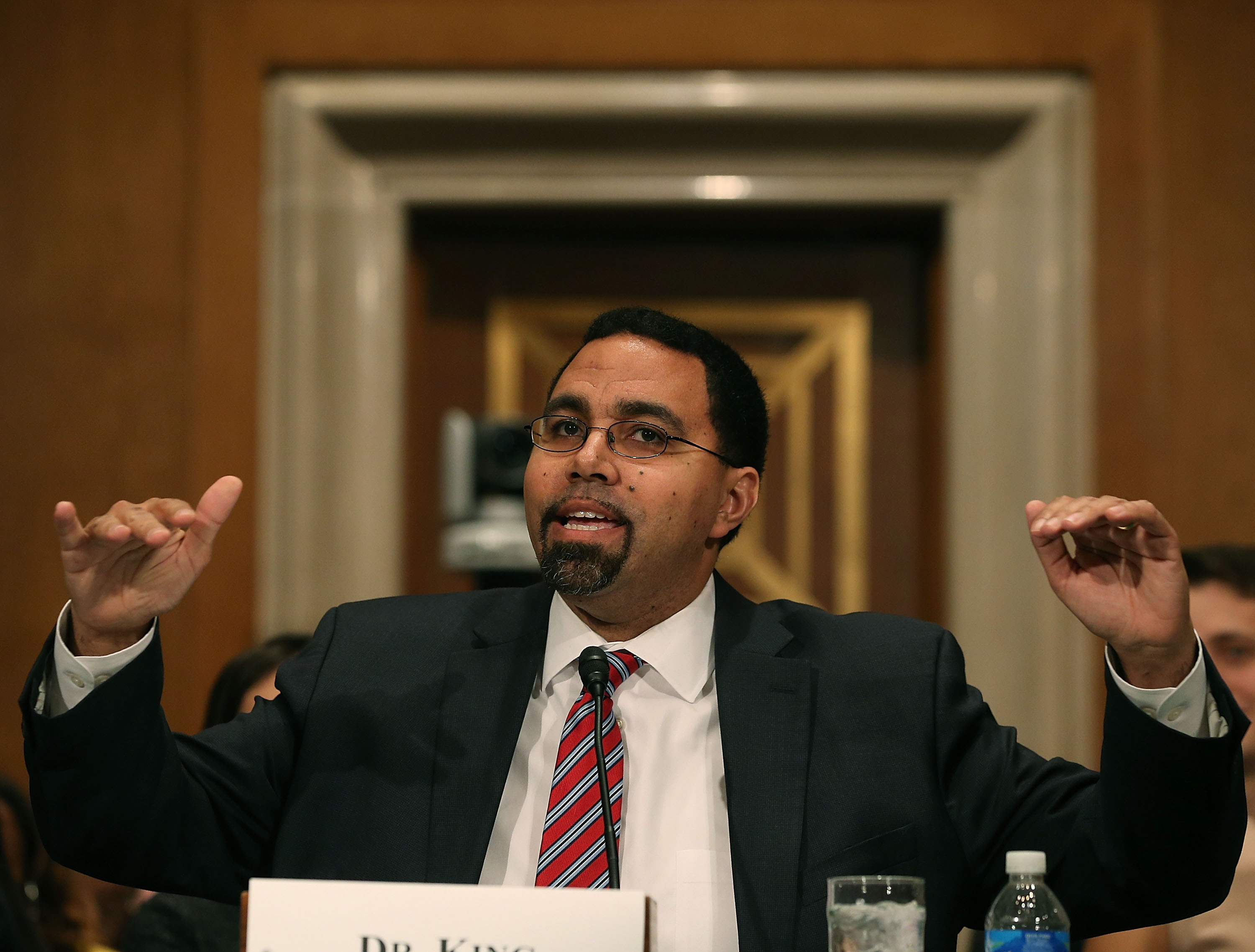 Secretary Of Education Calls For End To >> Civil Liberties And Consumer Groups Sue Education Department For