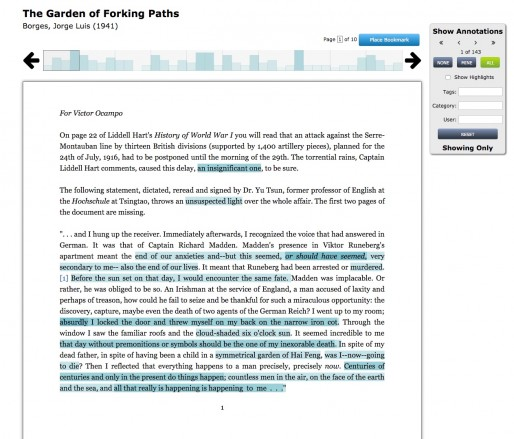 Lacuna lets students annotate online materials