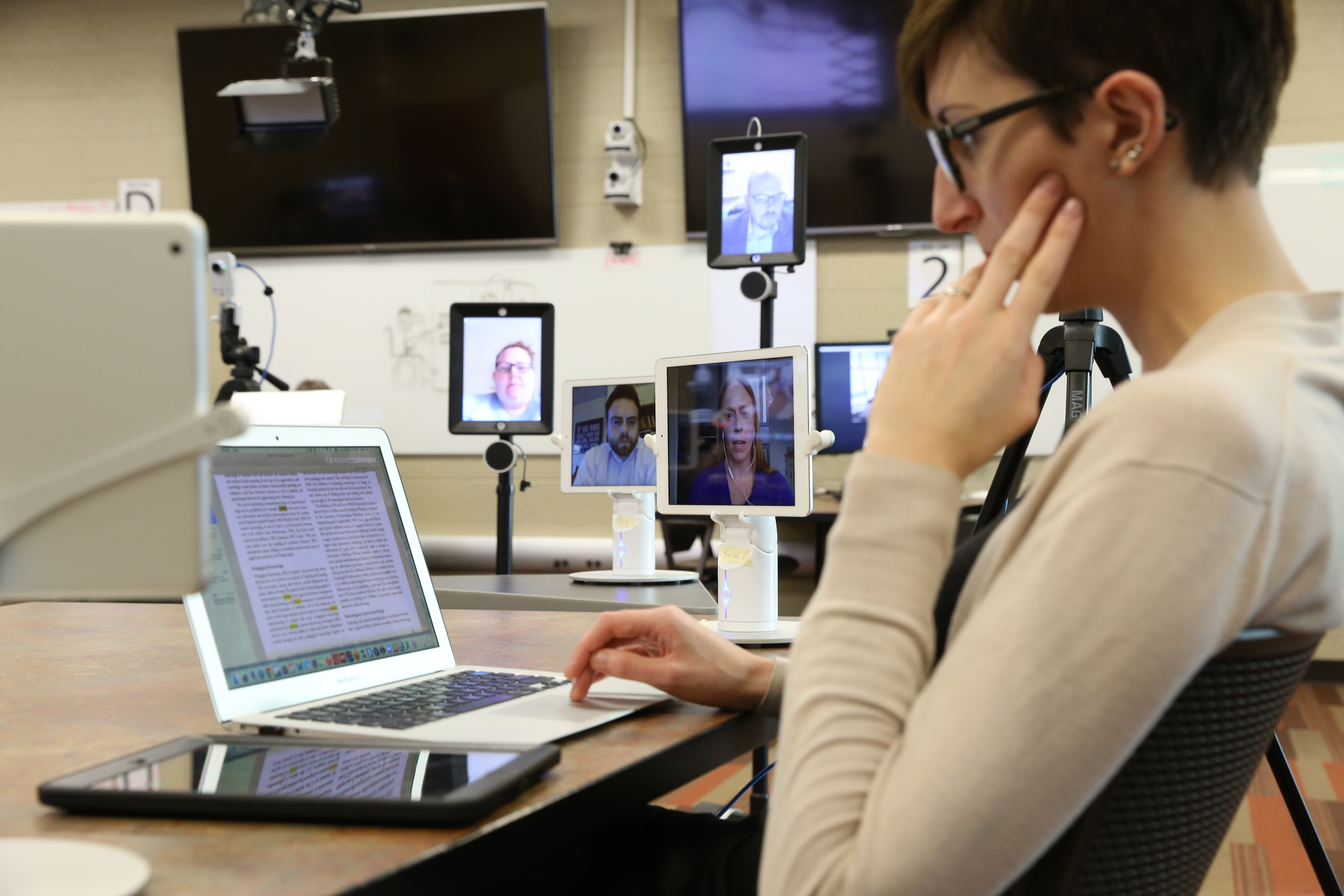 Students With Special Needs Face Double >> Robots Help Distance Students Seamlessly Join Classrooms At Michigan