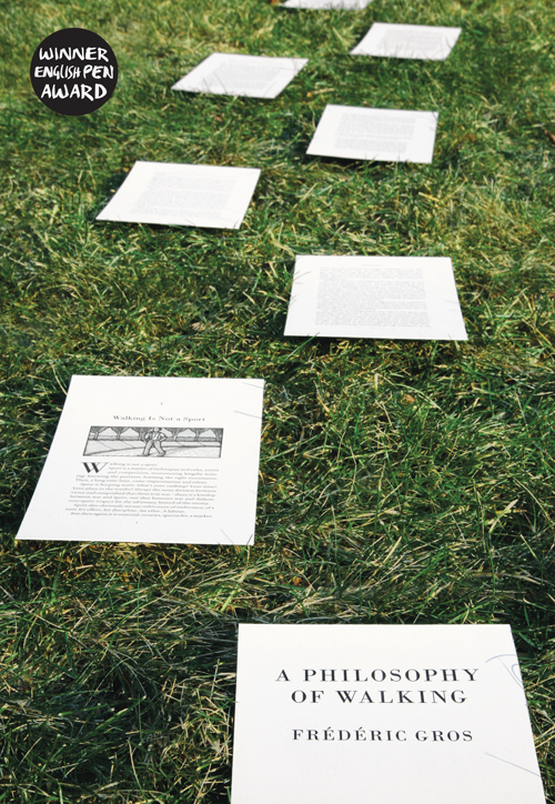 Review of Frederic Gros, 'A Philosophy of Walking'