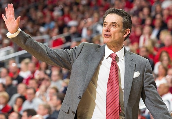 Former University of Louisville men's basketball coach Rick Pitino