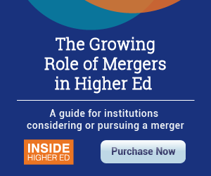 Special Report | The Growing Role of Mergers in Higher Ed | Purchase Now