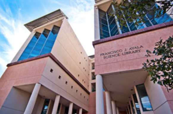 Phot of the Francisco J. Ayala Science Library at the University of California, Irvine