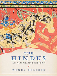 Cover of Wendy Doniger's book The Hindus: An Alternative History.
