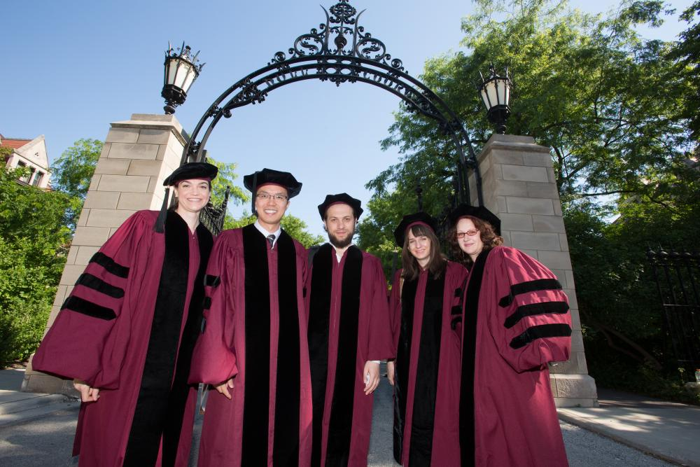 Data show modest gain in number of new Ph.D.s with jobs upon graduation
