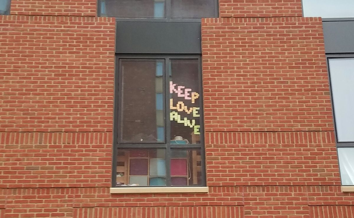 Ohio State prohibits window decorations in dormitories