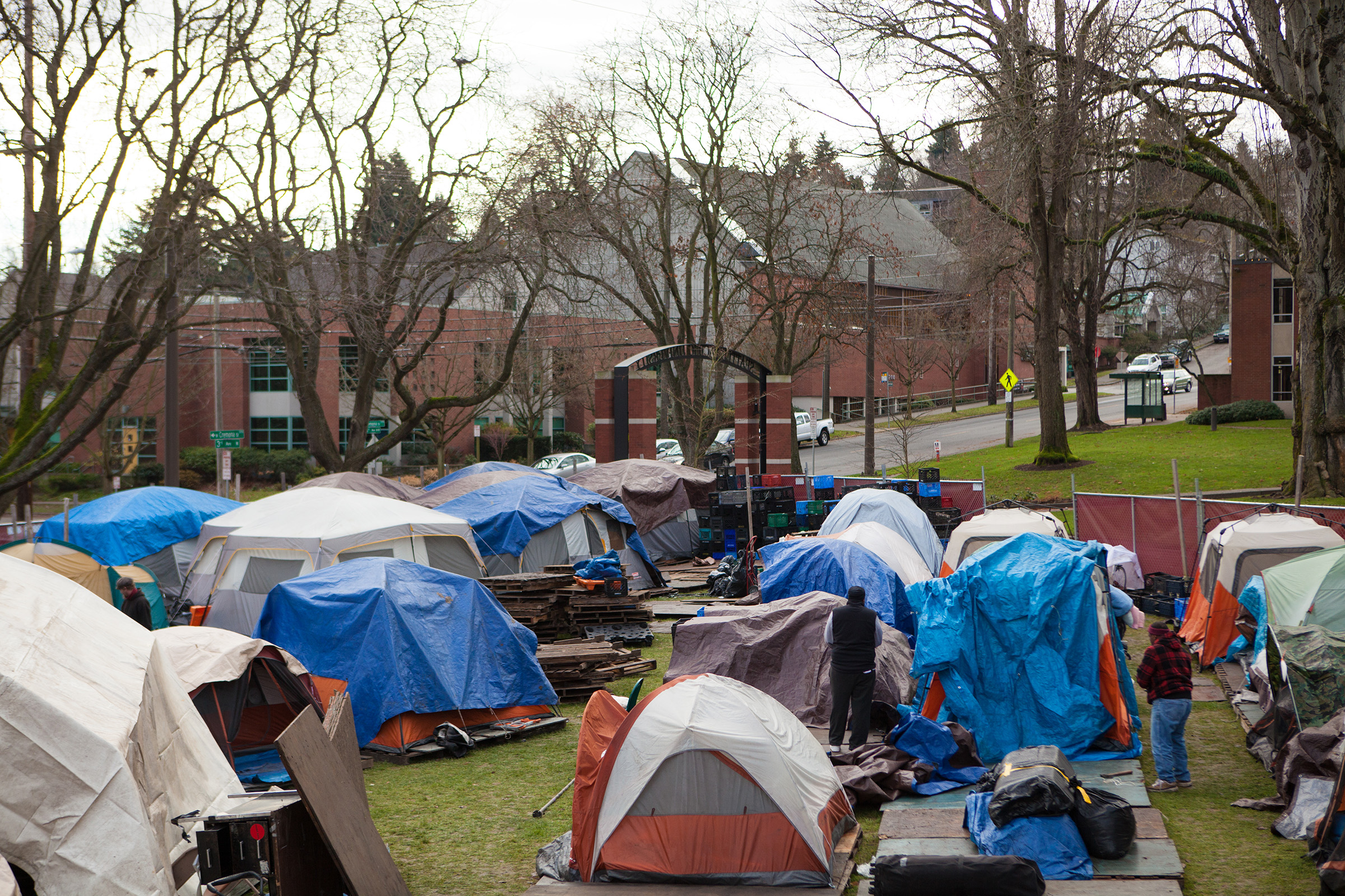 Homeless Tents & Image Tent City In Reno