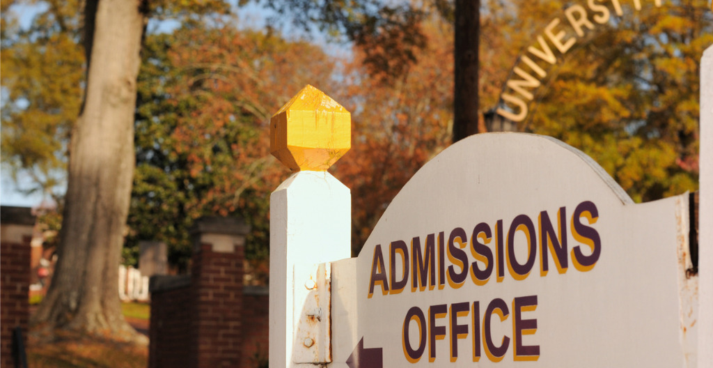 New data on admissions, including application trends, early decision