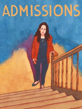 "Poster for ""Admissions,"" at Lincoln Center."