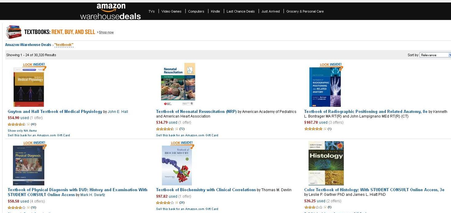 Amazon restricts students from bringing certain textbook