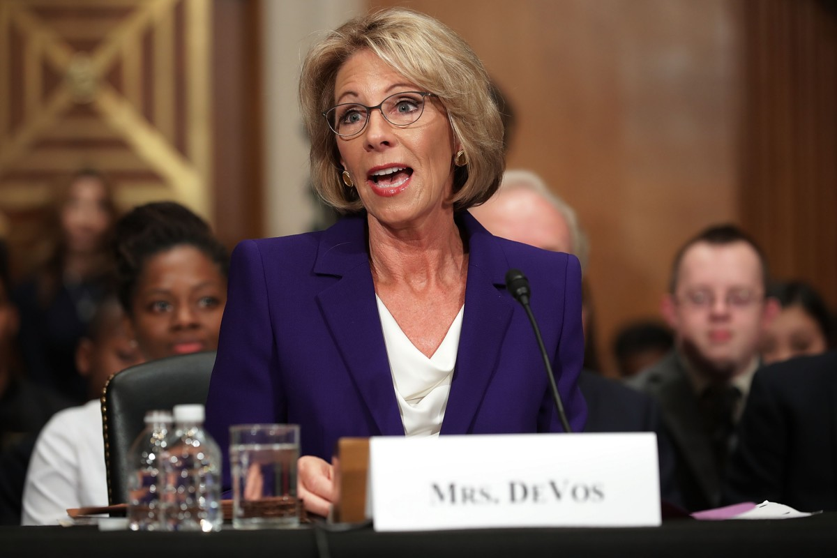 Advocates Demand Devos Protect Students >> Higher Ed Groups Call For Major Changes To Devos Title Ix Rule
