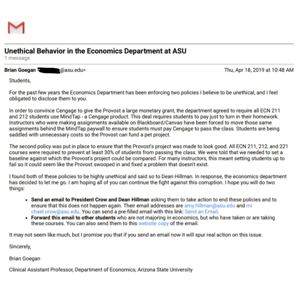 Accusations of forced failing grades fly at Arizona State
