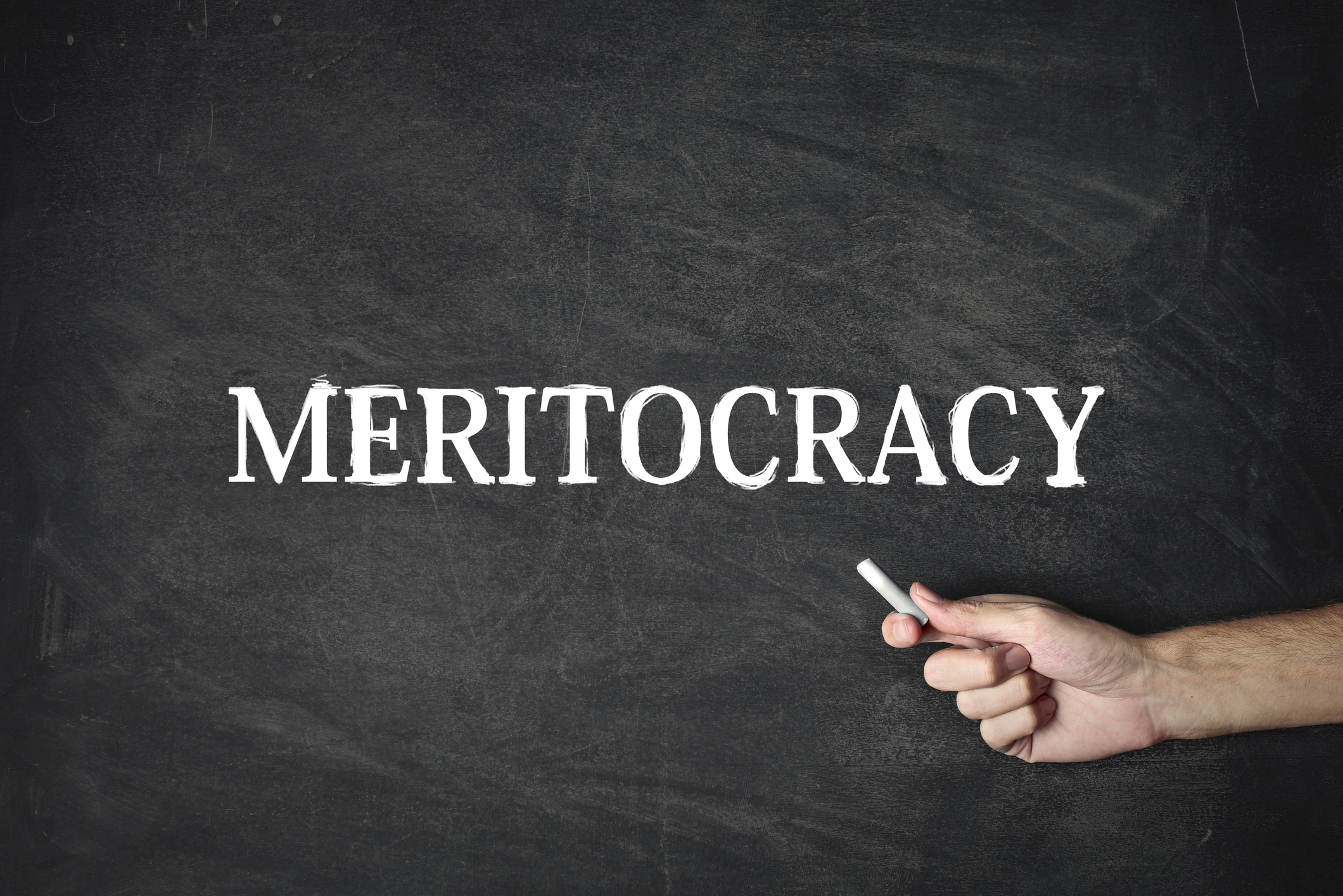 essay considers whether meritocracy is a myth