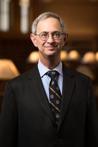 Photo of University of Rochester president Joel Seligman