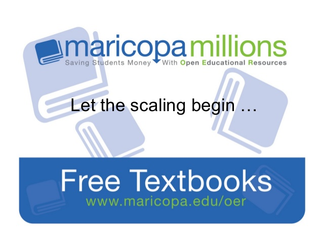 maricopa millions scales oer across 11 arizona community colleges