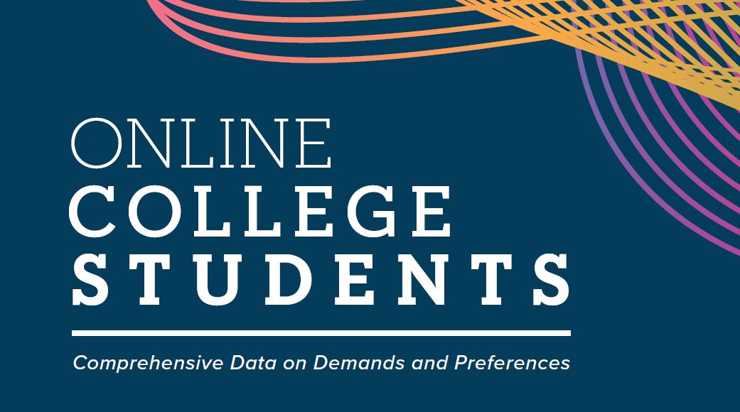 Annual survey shows online college students increasingly