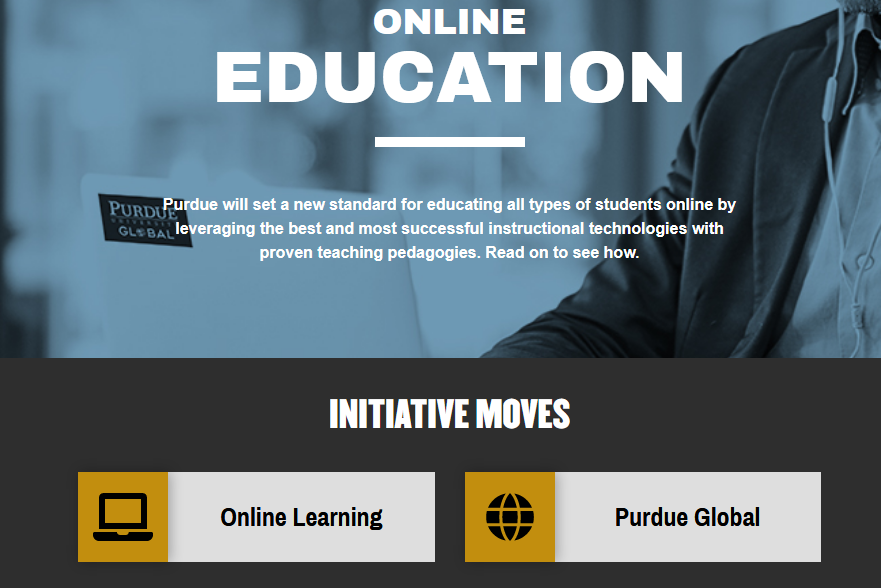 Purdue Prepares Online Expansion With Support From Newly Acquired For Profit