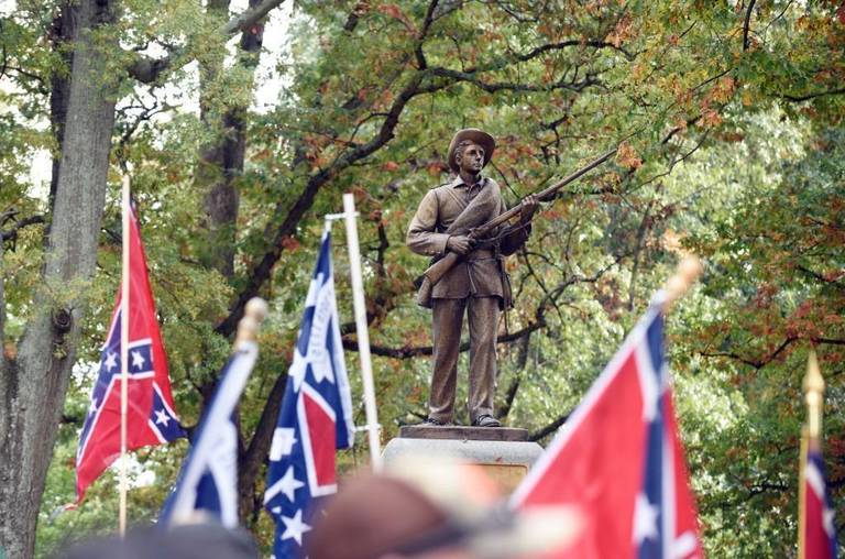 The University of North Carolina's Silent Sam.