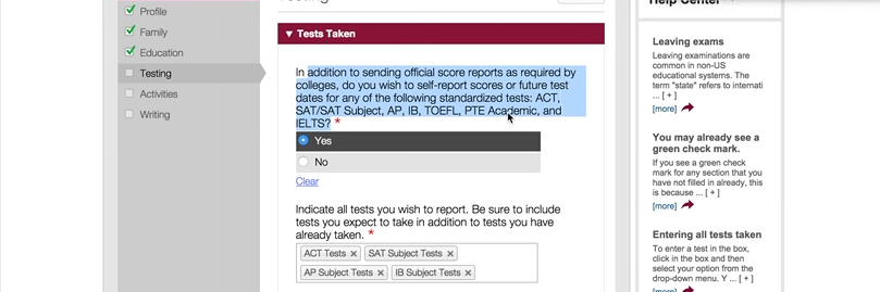 Act Scores For Colleges >> Move To Let Applicants Self Report Sat And Act Scores Spreads