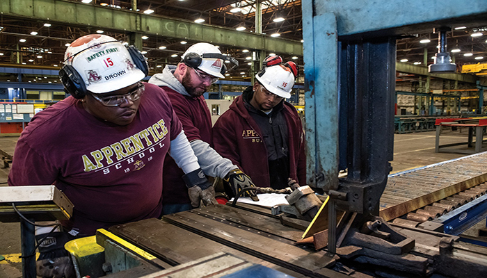 Old Dominion U 's new shipbuilding apprenticeships come with a