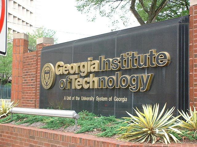 Georgia Institute of Technology signage
