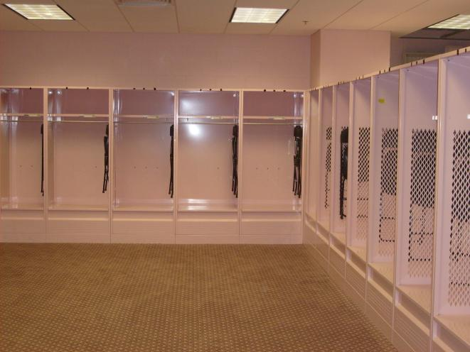 College Mens Soccer Locker Rooms