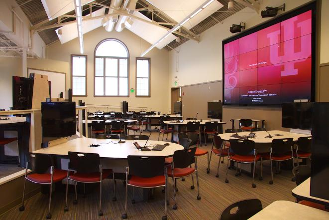 Inside Collaborative Classroom : Indiana university s active learning initiative expands