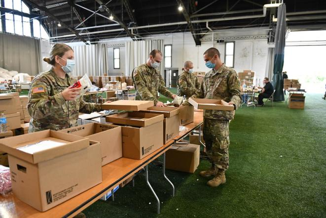 Rules Could Deprive National Guard Members Fighting Covid 19 Of Education Benefits