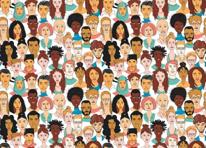 art of multicultural and racial students