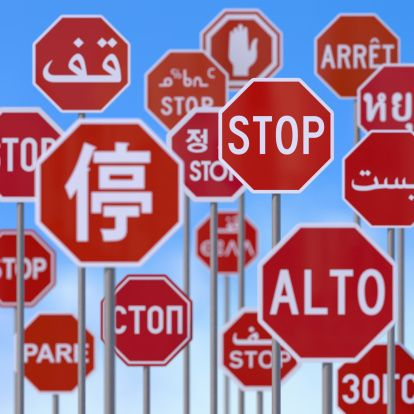 Why do Americans not recognize common words from the other languages?