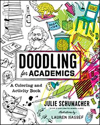 Coloring book offers academics chance to be creative while poking ...