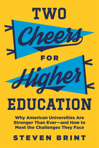 More Evidence That Movement To Defend >> Author Discusses New Book Defending The Quality Of American Higher