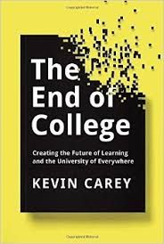 Kevin Carey Talks About His New Book The End Of College