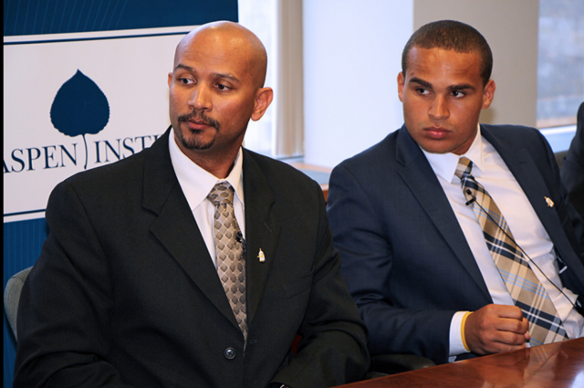 Ramogi Huma and Kain Colter speak about college sports and their unionization effort.
