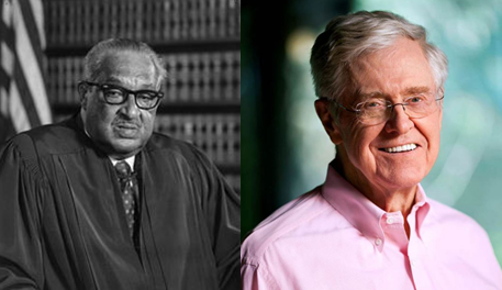 Thurgood Marshall College Fund defends accepting Koch money